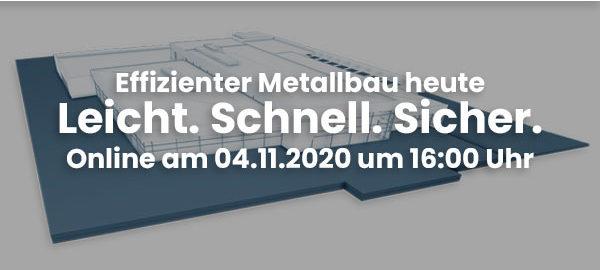Effizienter Metallbau heute_Roadshow_2020
