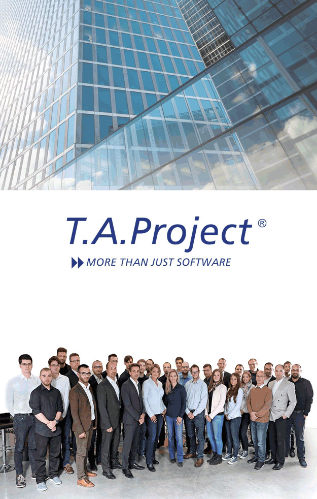 Das Tem der T.A.Project Software
