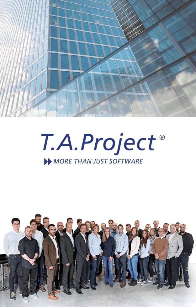 Das Tem der T.A.Project - Softwarelösung für die Betriebs- und Produktionssteuerung
